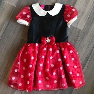 ❤️Disney Minnie Mouse Polka Dot Costume(4T-5T)